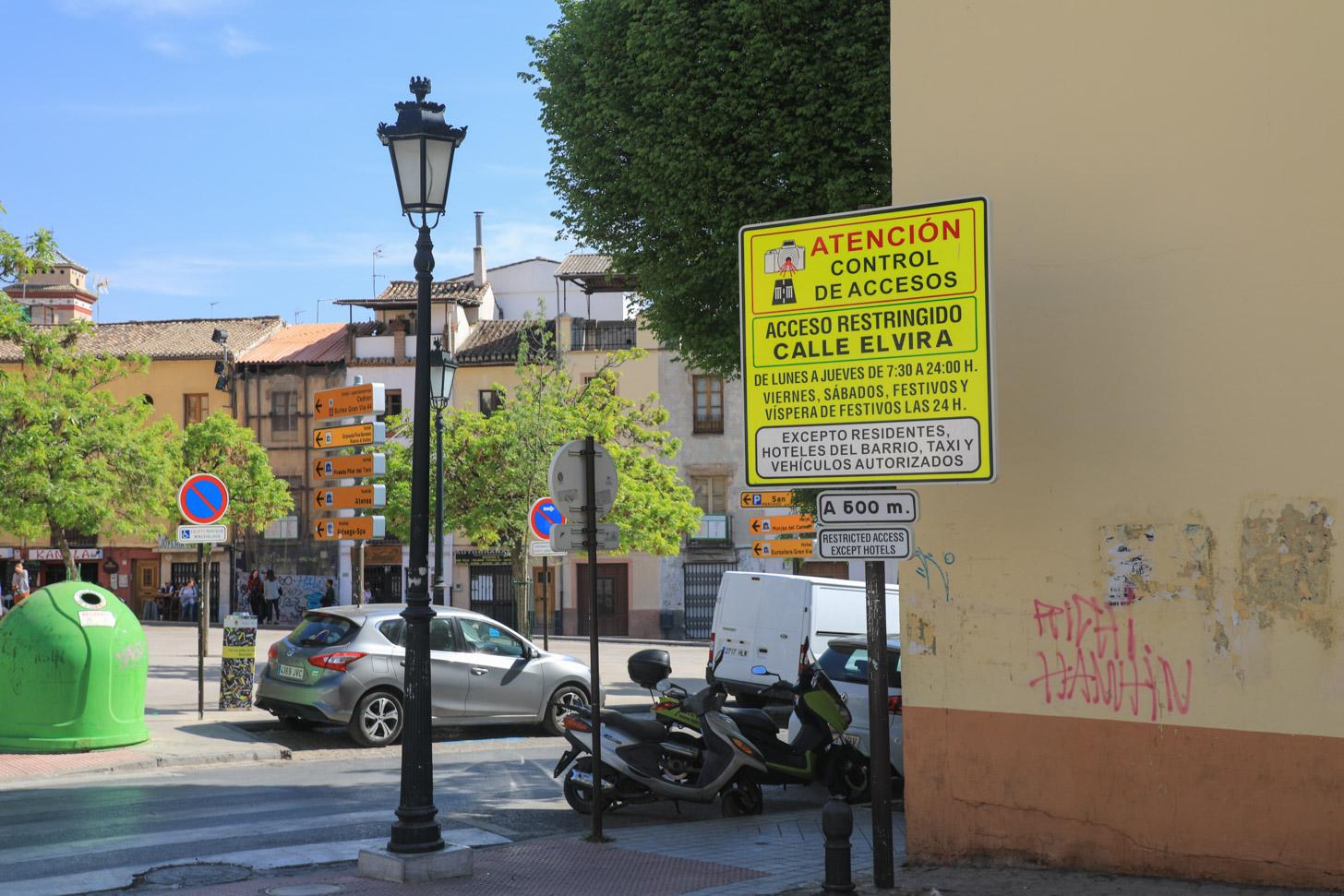 Autorijden in Granada