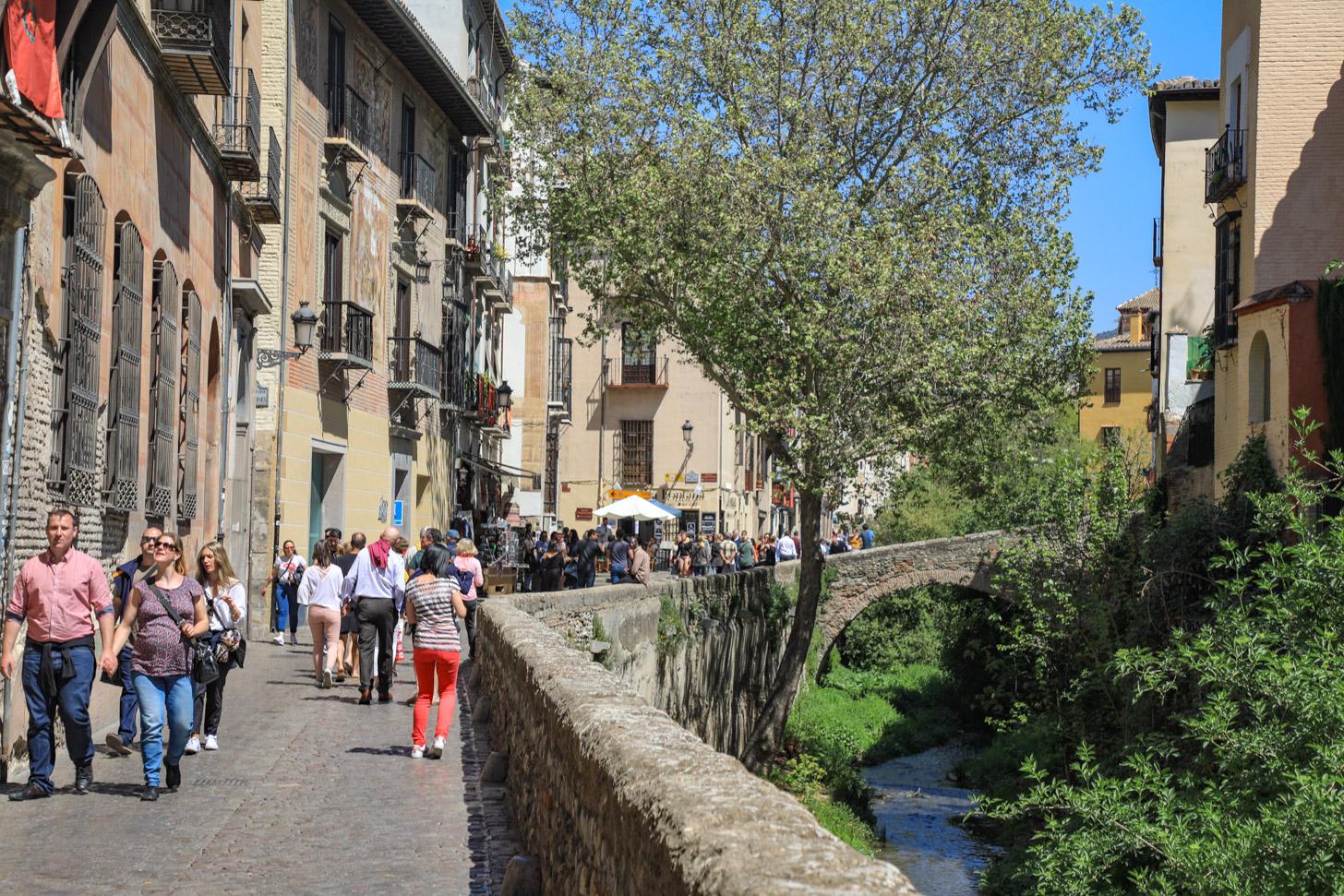 Wandelen in Granada