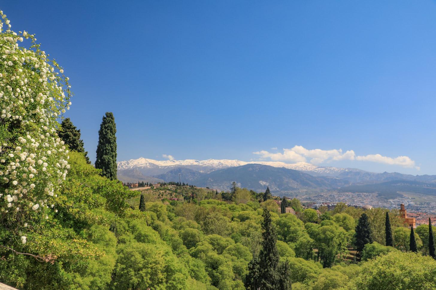 Het weer in Granada